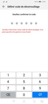 Huawei P30 Pro - Sécuriser votre mobile - Activer le code de verrouillage - Étape 7