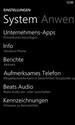 HTC Windows Phone 8S - Fehlerbehebung - Handy zurücksetzen - 2 / 2