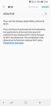 Samsung Galaxy A8 - Internet et connexion - Accéder au réseau Wi-Fi - Étape 6