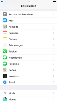 Apple iPhone 8 Plus - Apps - App-Berechtigungen aktivieren/deaktivieren - 3 / 4