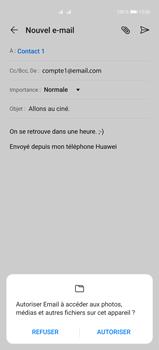 Huawei P40 Pro - E-mails - Envoyer un e-mail - Étape 11