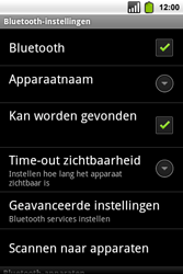 Alcatel OT-991 Smart - bluetooth - aanzetten - stap 8