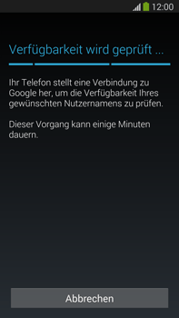 Samsung Galaxy Note III LTE - Apps - Einrichten des App Stores - Schritt 9