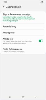 Samsung Galaxy A50 - Anrufe - Rufumleitungen setzen und löschen - Schritt 8