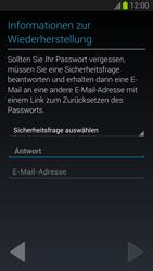 Samsung Galaxy S III - OS 4-1 JB - Apps - Konto anlegen und einrichten - 2 / 2