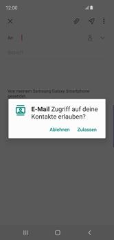 Samsung Galaxy S10e - E-Mail - E-Mail versenden - Schritt 6