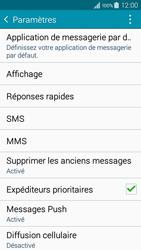 Samsung A300FU Galaxy A3 - SMS - Configuration manuelle - Étape 6