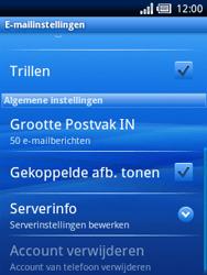 Sony Ericsson Xperia X10 Mini Pro - E-mail - handmatig instellen - Stap 11