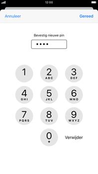 Apple iPhone 8 Plus - iOS 13 - Beveiliging - Stel de pincode voor je simkaart in - Stap 11