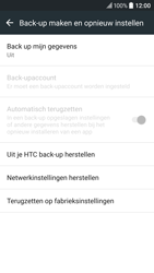 HTC 10 - Toestel reset - terugzetten naar fabrieksinstellingen - Stap 5