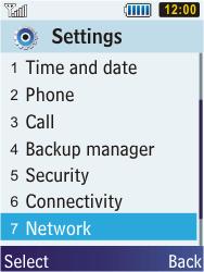 Samsung C3350 Xcover 2 - Internet - Manual configuration - Step 4