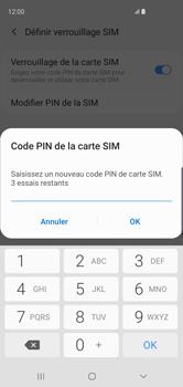 Samsung Galaxy S10 - Sécuriser votre mobile - Personnaliser le code PIN de votre carte SIM - Étape 9