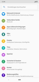 Nokia 6.1 Plus - Netzwerk - Netzwerkeinstellungen ändern - 4 / 9