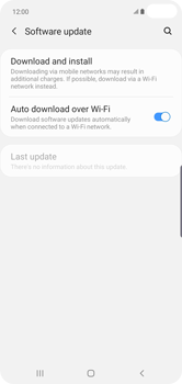 Samsung Galaxy S10 Plus - Software - Installing software updates - Step 6