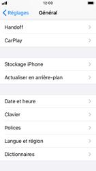 Apple iPhone SE - iOS 13 - Prise en main - Comment ajouter une langue de clavier - Étape 4