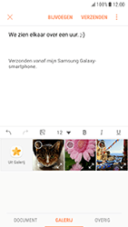 Samsung Galaxy S7 - Android Nougat - E-mail - e-mail versturen - Stap 11