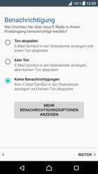 Sony Xperia XA - E-Mail - Manuelle Konfiguration - Schritt 20