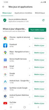Samsung Galaxy S20 Ultra 5G - Applications - Comment vérifier les mises à jour des applications - Étape 9