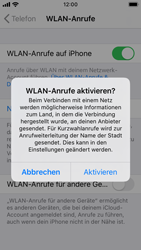 Apple iPhone SE - iOS 13 - WiFi - WiFi Calling aktivieren - Schritt 7
