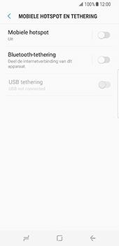 Samsung Galaxy S8 (G950) - WiFi - Mobiele hotspot instellen - Stap 6