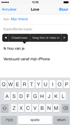 Apple iPhone 5s - E-mail - E-mails verzenden - Stap 10