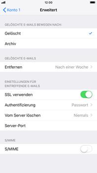 Apple iPhone 6 Plus - iOS 12 - E-Mail - Konto einrichten - Schritt 22