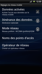 Sony Xperia Ray - Internet - Configuration manuelle - Étape 6
