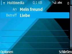 Nokia E71 - MMS - Erstellen und senden - Schritt 14