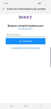 Samsung Galaxy S10 Plus - E-mails - Ajouter ou modifier votre compte Yahoo - Étape 8