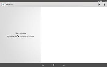 Sony Xperia Tablet Z2 LTE - MMS - Erstellen und senden - 6 / 22
