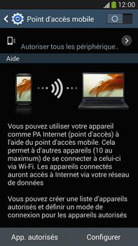 Samsung Galaxy Note 3 - Internet et connexion - Partager votre connexion en Wi-Fi - Étape 9