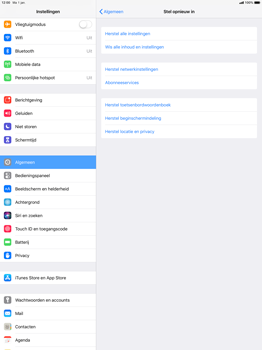 Apple ipad-pro-12-9-ios-12 - Resetten - Fabrieksinstellingen terugzetten - Stap 5