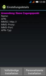 Alcatel OT-4033X Pop C3 - MMS - Automatische Konfiguration - Schritt 7