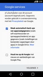 LG LG X Screen - apps - account instellen - stap 16