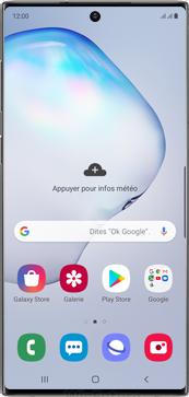 Samsung Galaxy Note 10 - Téléphone mobile - Comment effectuer une réinitialisation logicielle - Étape 2
