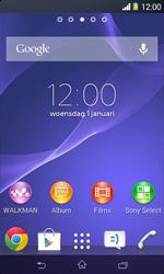 Sony D2005 Xperia E1 - E-mail - e-mail instellen: IMAP (aanbevolen) - Stap 1