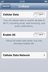 Apple iPhone 3GS - MMS - Manual configuration - Step 6