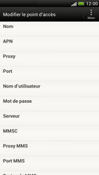 HTC Z520e One S - Internet - Configuration manuelle - Étape 10