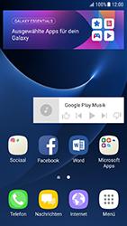 Samsung Galaxy S7 - Android N - Startanleitung - Installieren von Widgets und Apps auf der Startseite - Schritt 9