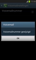 Samsung Galaxy S III Mini - voicemail - handmatig instellen - stap 7