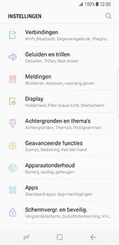 Samsung Galaxy S8 - netwerk en bereik - gebruik in binnen- en buitenland - stap 4