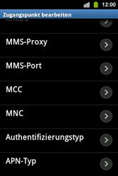Samsung Galaxy Ace i - Internet - Manuelle Konfiguration - 2 / 2