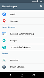 Sony Xperia XA1 - Anrufe - Rufumleitungen setzen und löschen - 0 / 0
