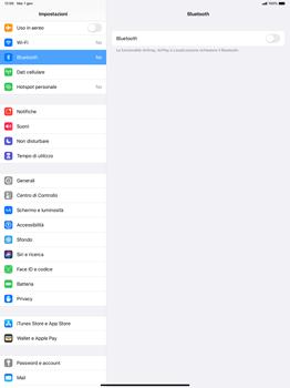 Apple iPad Pro 12.9 (2018) - ipados 13 - Bluetooth - Collegamento dei dispositivi - Fase 4