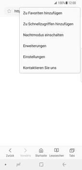 Samsung Galaxy S8 - Internet - Manuelle Konfiguration - 2 / 2