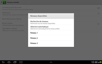 Samsung N8000 Galaxy Note 10-1 - Réseau - utilisation à l'étranger - Étape 11