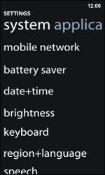 Nokia Lumia 800 / Lumia 900 - Network - Manual network selection - Step 4