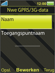 Sony Ericsson W995 - Internet - Handmatig instellen - Stap 9