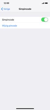 Apple iPhone XS - Beveiliging - Stel de pincode voor je simkaart in - Stap 5