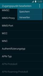 Samsung Galaxy S5 - MMS - Manuelle Konfiguration - 15 / 19